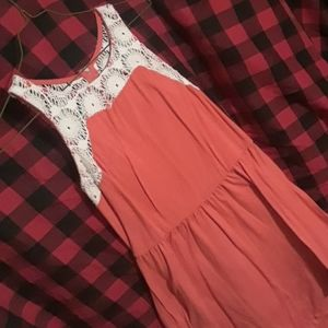Xhilaration coral dress with small flaw